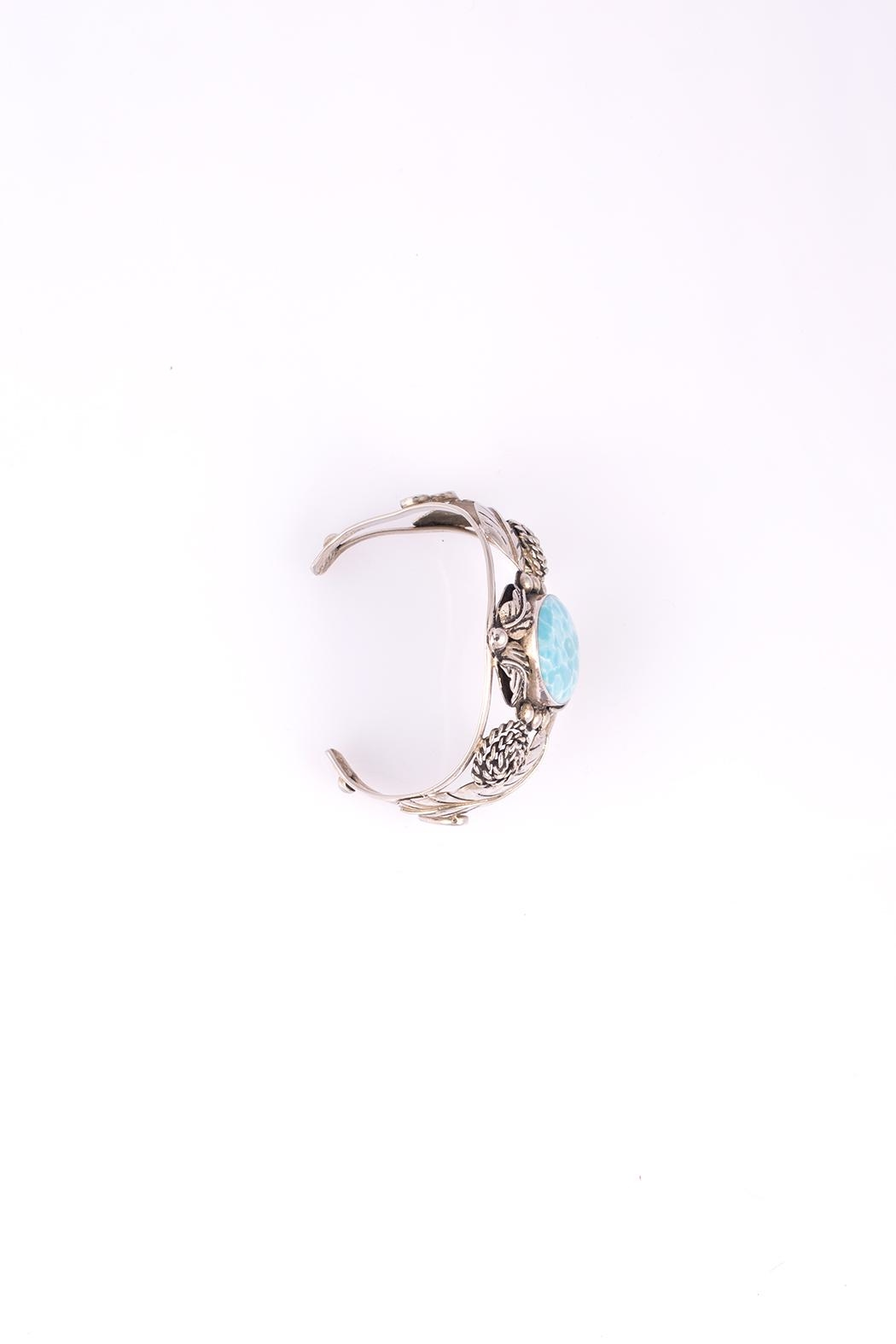 Sioro Jewelry Silver Cuff Bracelet - Front Full Image
