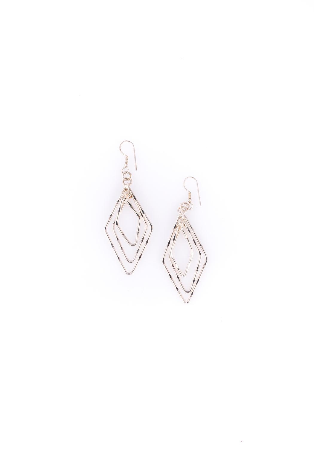 Sioro Jewelry Silver Dangle Earrings - Front Cropped Image