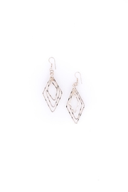 Sioro Jewelry Silver Dangle Earrings - Front cropped