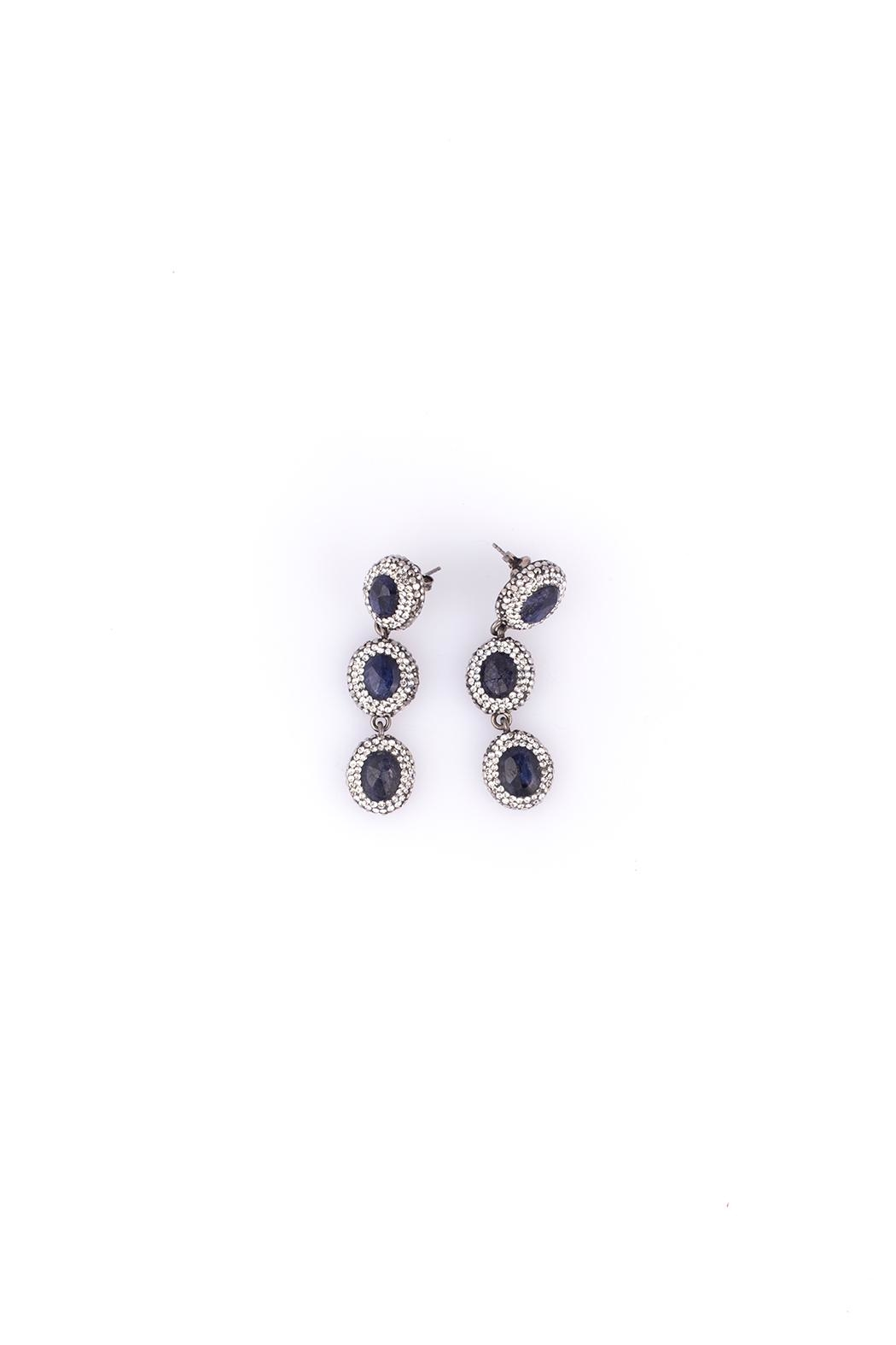 Sioro Jewelry Silver Drop Earrings - Front Cropped Image