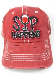 Imagine That Sip Happens Hat - Product Mini Image