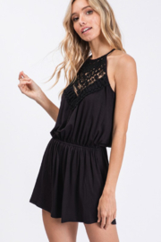 CY Fashion Sippin' On Sweet Tea Romper - Front full body
