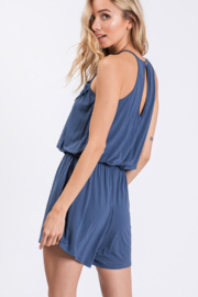 CY Fashion Sippin' On Sweet Tea Romper - Side cropped