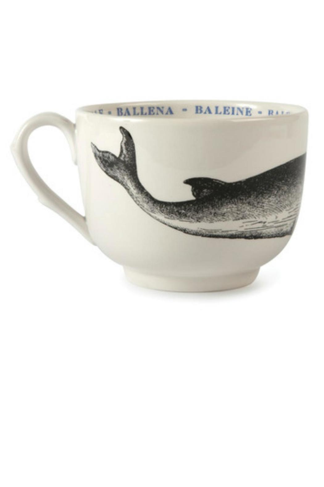 Sir/Madam Whale Fauna Cup - Front Full Image