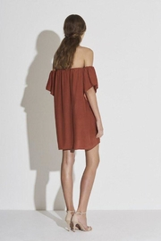 SIR the label Clo Off Shoulder Dress - Front full body