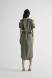 SIR the label June Wrap Dress - Front full body