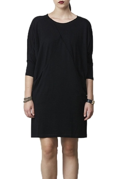 Siren Folded Knit Dress - Alternate List Image
