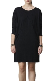 Siren Folded Knit Dress - Product Mini Image