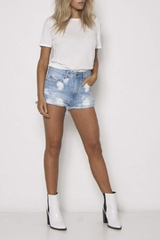 Neon Blonde Siren Jean Shorts - Product Mini Image