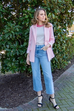 Cupcakes and Cashmere Siri Open Oversize Blazer - Product List Image