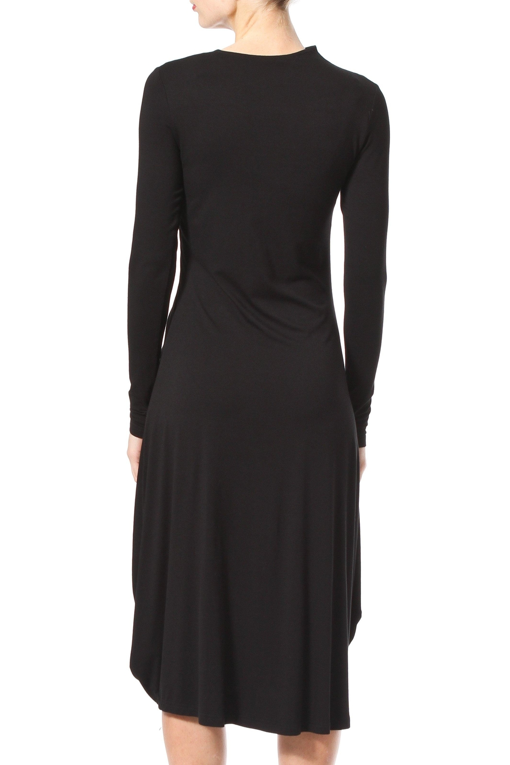 Madonna & Co Sirred Knit Midi - Side Cropped Image