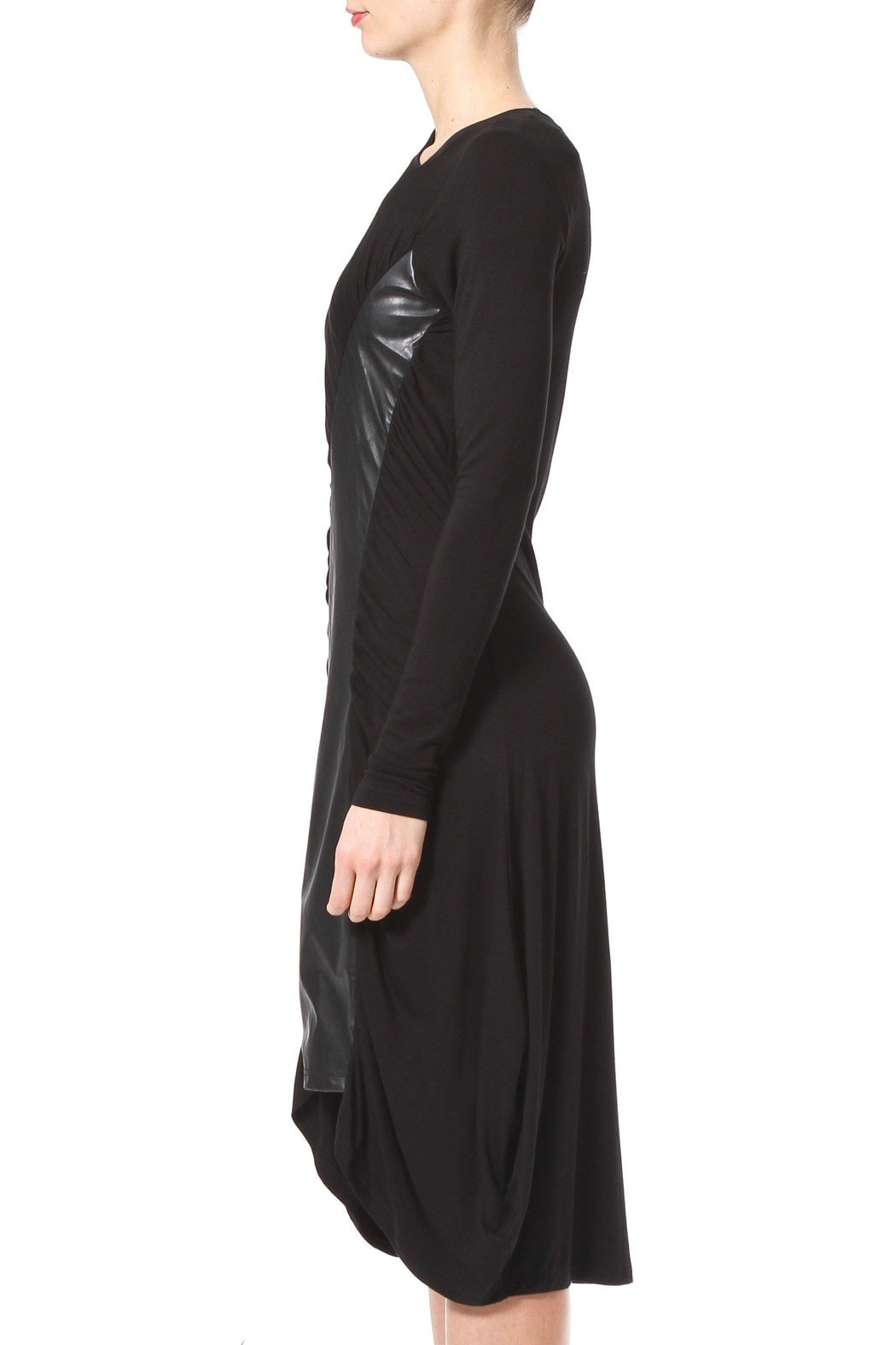 Madonna & Co Sirred Knit Midi - Front Full Image