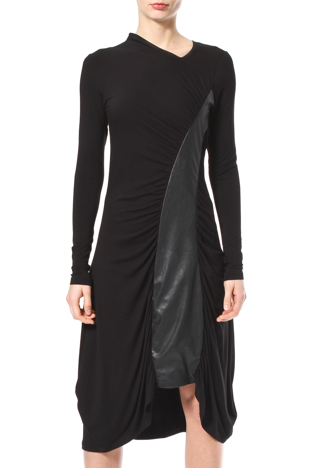 Madonna & Co Sirred Knit Midi - Front Cropped Image