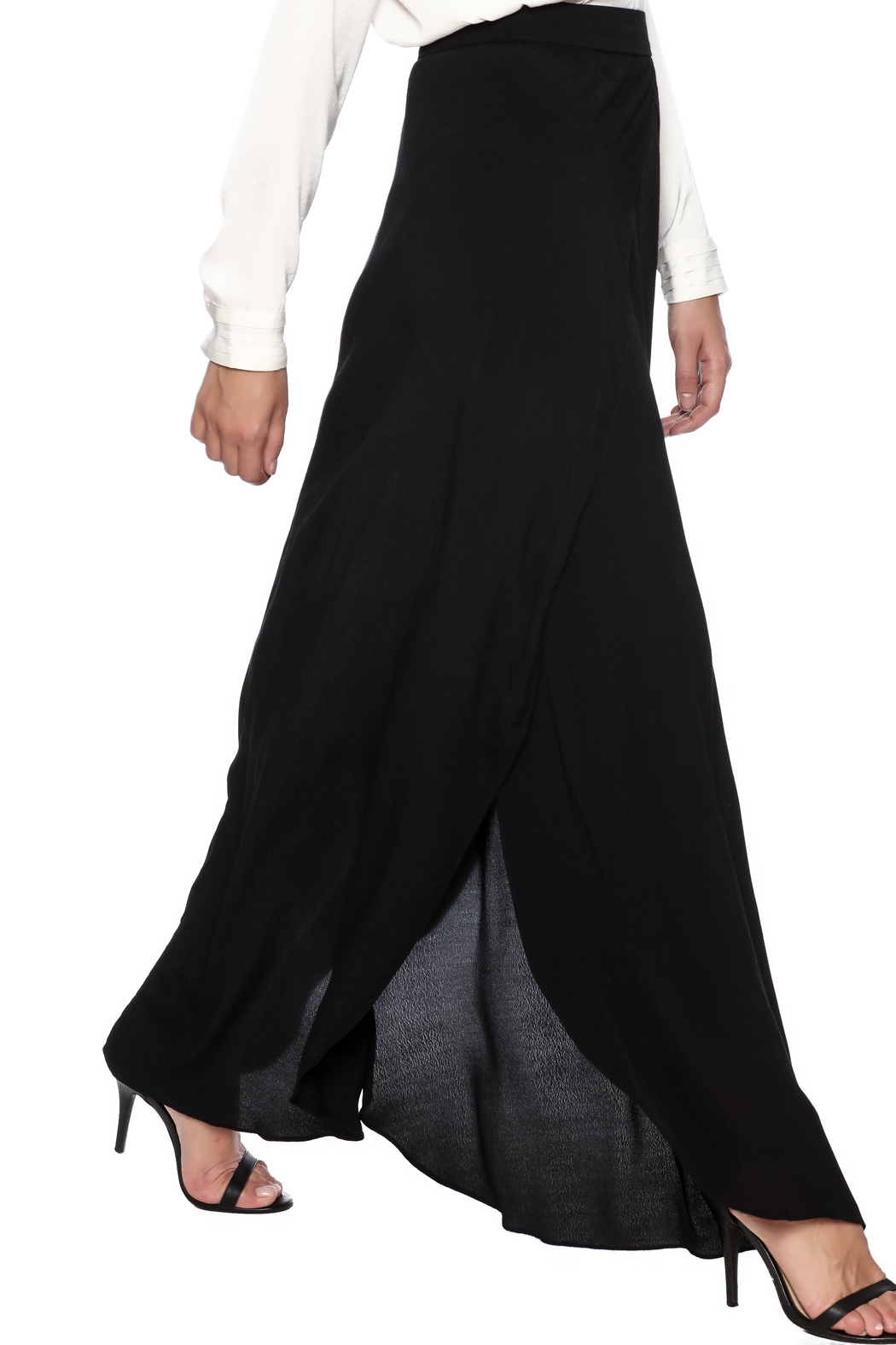 sis sis high slit maxi skirt from atlanta by sole shoes