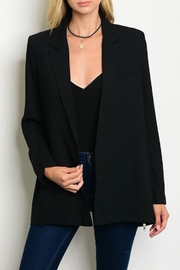 Sis Sis Zip Open Blazer - Front cropped