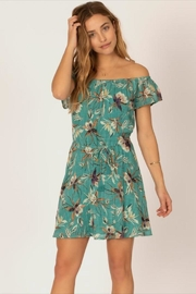 Sisstrevolution Floral Tie-Front Dress - Product Mini Image