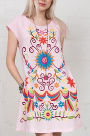 Sister Mary Bird Floral Swing Dress - Product Mini Image