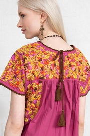 Sister Mary Mexican Embroidery Top - Front full body
