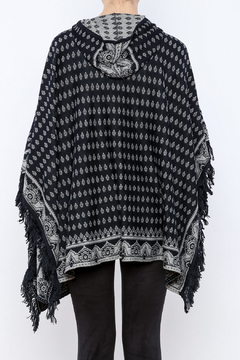 sisters Diamond Hooded Poncho - Alternate List Image