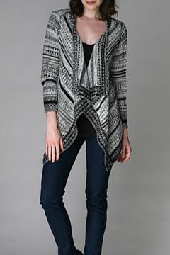 sisters Drape Front Cardigan - Alternate List Image