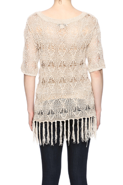sisters Fringe Sweater Top - Alternate List Image