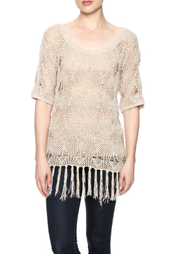 sisters Fringe Sweater Top - Product List Image