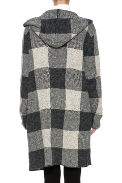 sisters Grey Hooded Cardigan - Alternate List Image