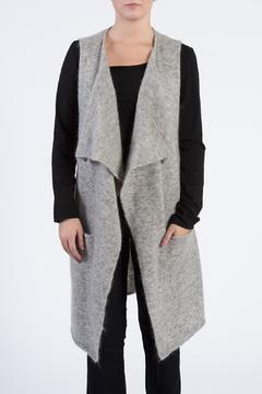 Shoptiques Product: Grey Open Vest