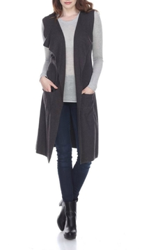 sisters Long Grey Vest - Product List Image
