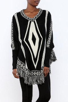 Shoptiques Product: Diamond Poncho
