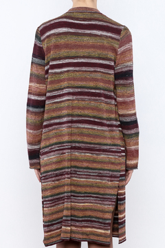 sisters Long Stripe Cardigan - Alternate List Image