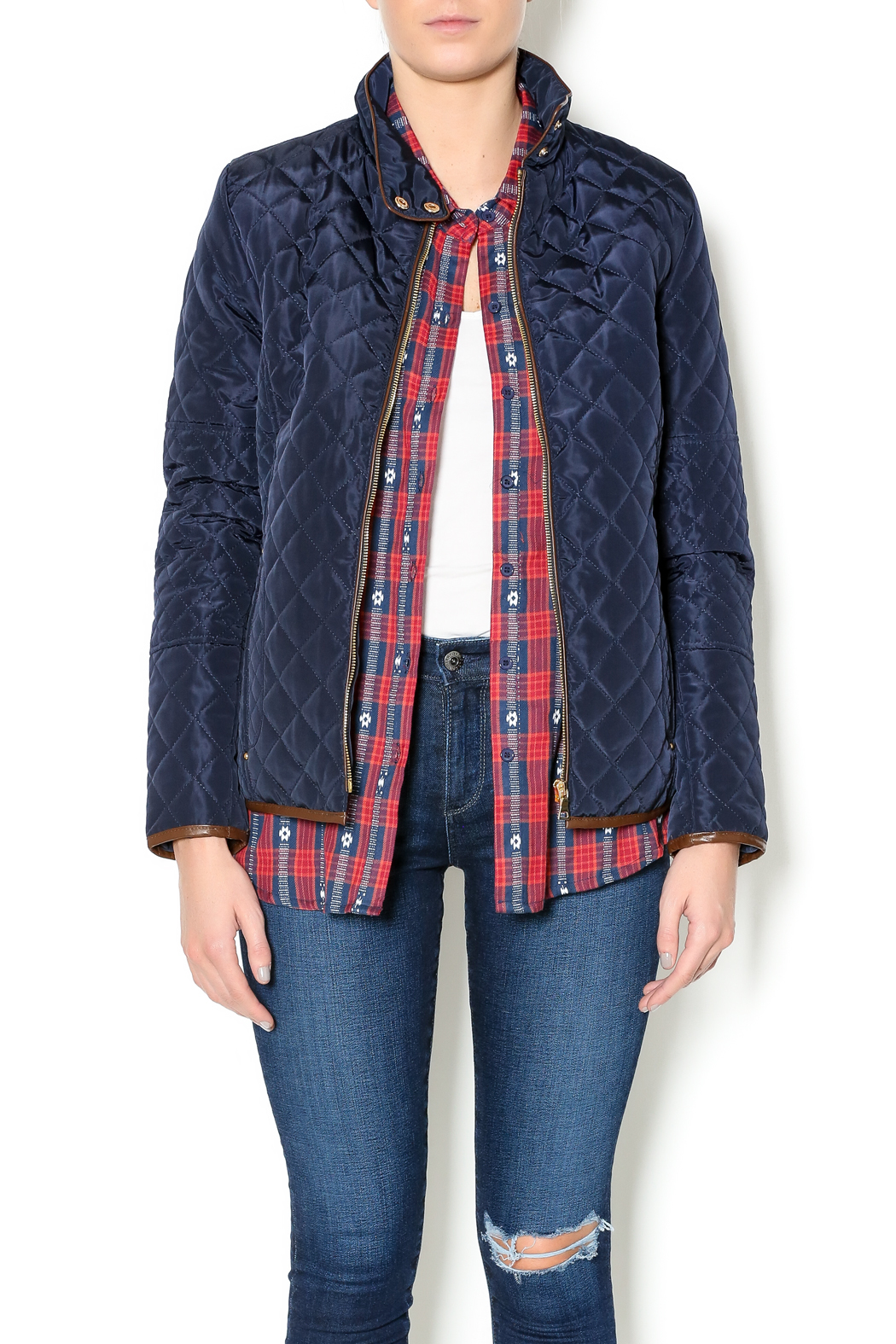 sisters Quilted Jacket - Main Image
