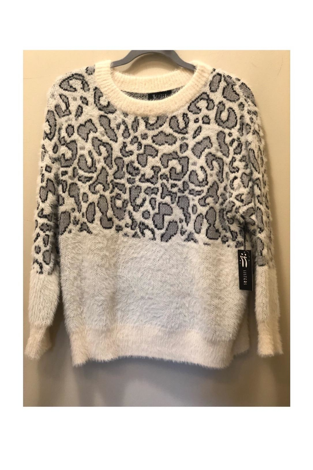 sisters Snow Leopard Sweater - Main Image