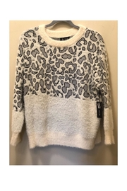 sisters Snow Leopard Sweater - Front cropped