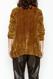 sisters Super Soft Chenille Cardi - Back cropped