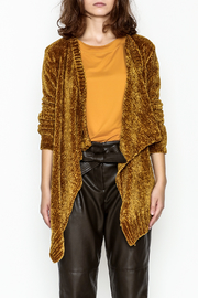 sisters Super Soft Chenille Cardi - Front full body