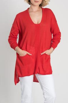 Shoptiques Product: Tomato Pocket Tunic