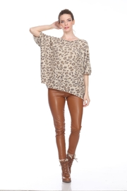 Sisters Knits Leopard Dolman Sweater - Product Mini Image