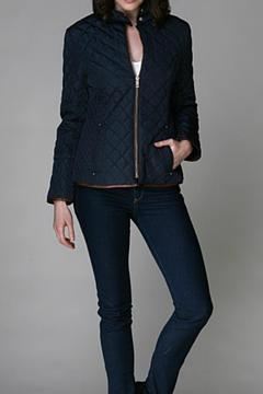 Shoptiques Product: Navy Quilted Jacket