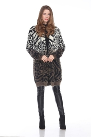 Sisters Knits Ombre Leopard Cardigan - Product Mini Image