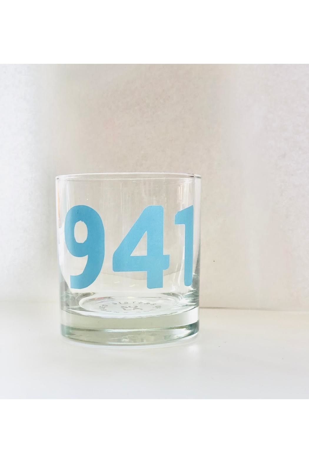 Sisters of Los Angeles 941 Area Code Glass - Main Image