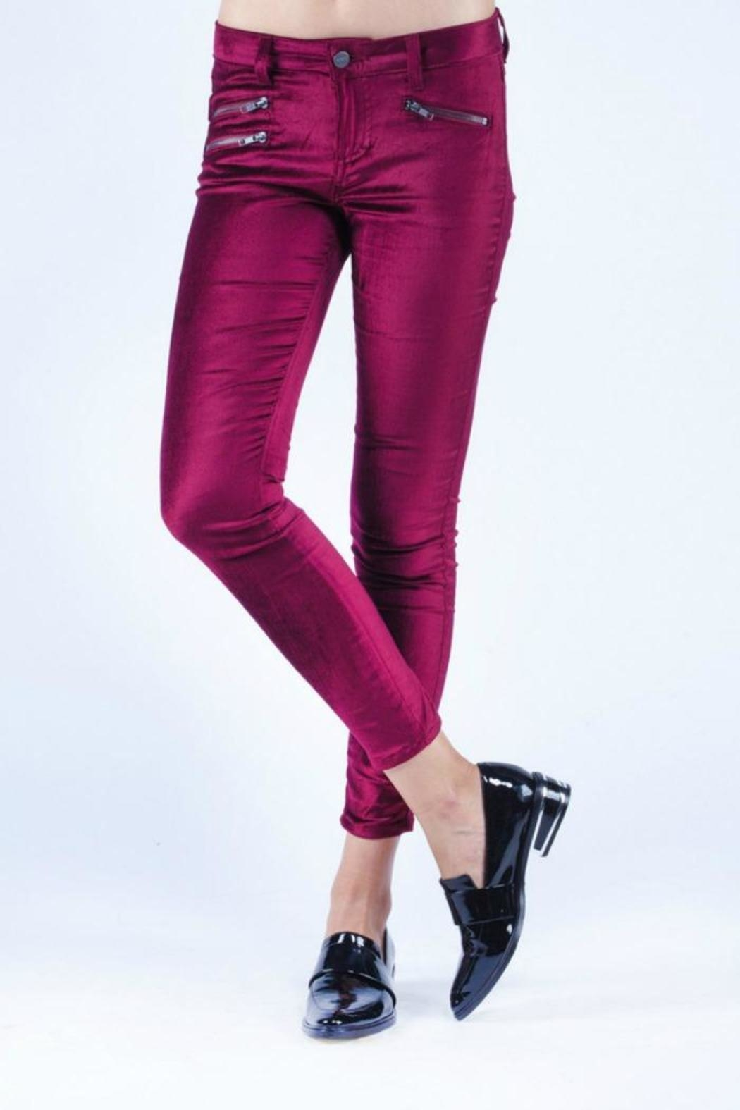 SIWY Denim Michaela Twin Flame Jeans - Front Cropped Image