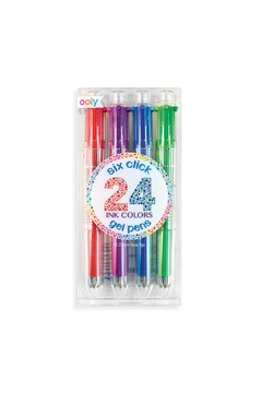 Ooly Six Click Multi Color Gel Pens - Set Of 4 - Product List Image