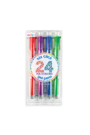 Ooly Six Click Multi Color Gel Pens - Set Of 4 - Product Mini Image