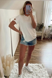 Six Fifty Arm Cutout Tee - Front cropped