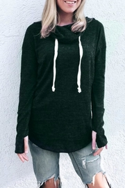 Six Fifty Draw Neck Top - Product Mini Image