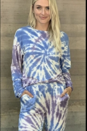 Six Fifty Tie Dye Crewneck - Front cropped