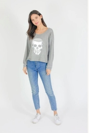 Six Fifty Tonal Skull Pullover - Product Mini Image