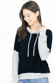 Six Fifty Two Tone Hoodie - Front cropped