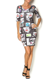 SJ Style Bodycon Dress - Front full body